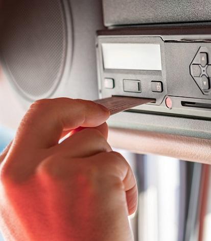 tachygraphe carte conducteur transport donnees legales traitement SDEI